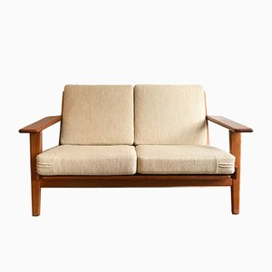 GE-290 2-Seater Sofa by Hans J. Wegner for Getama, 1960s