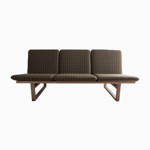 Modell 211 Sofa & Modell 2256 Slædestolen Sessel von Børge Mogensen für Fredericia, 1950er