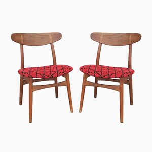 Mid-Century CH-30 Chairs by Hans J. Wegner for Carl Hansen & Søn, 1954, Set of 2