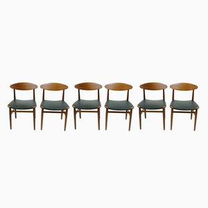 Dining Chairs by Peter Hvidt & Orla Mølgaard-Nielsen, 1960s, Set of 6