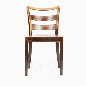 Vintage Stuhl aus Eiche von Thonet