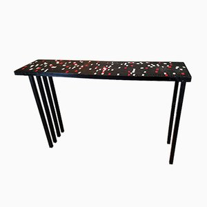Mid-Century Mosaic Side Table, 1960s
