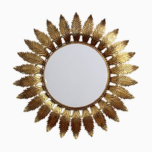 Spanish Sunburst Mirror, 1950s