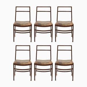 Vintage Stühle von Renato Venturi für MIM Roma, 6er Set
