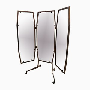 Specchio trittico Mid-Century, Italia, anni '60