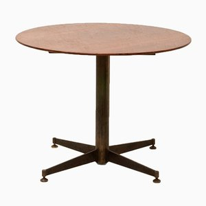 Italian Small Round Dining Table, 1950s