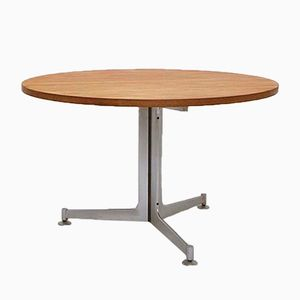 Tavolo da pranzo di Preben Fabricius & Jorgen Kastholm per Kill International, anni '60