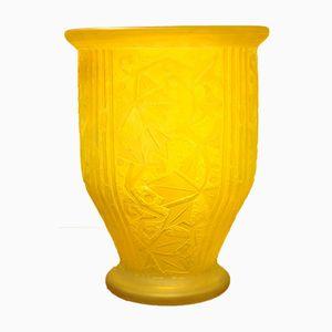 Vaso Art Deco di Jean Daum, Francia, anni '30