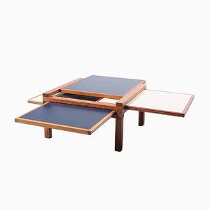 Table Basse Modulaire par Bernard Vuarnesson pour Bellato, 1980s