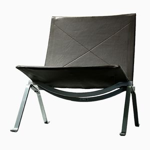 PK 22 Lounge Chair by Poul Kjærholm for Fritz Hansen, 1988