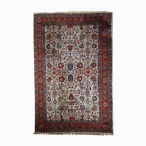 Handgeknüpfter Persischer Vintage Mashad Teppich, 1950er