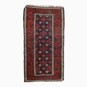 Vintage Handmade Afghan Baluch Rug, 1920s