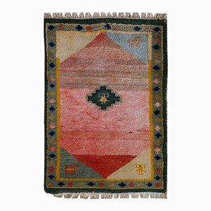 Tappeto Gabbeh vintage fatto a mano, Iran, anni '60