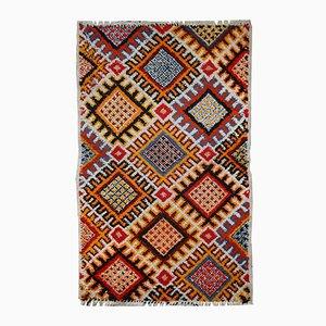 Handgefertigter Marokkanischer Vintage Berber Teppich, 1960er