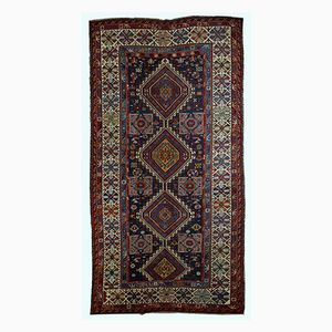 Tapis Shirvan Antique Fait Main, Caucase, 1890s
