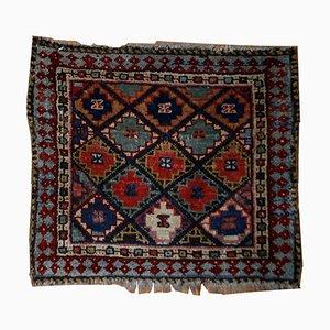 Antiker Handgefertigter Persisch Kurdischer Teppich, 1880er