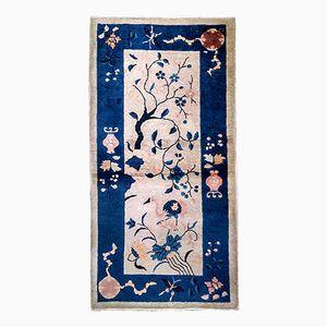 Tappeto antico fatto a mano, Cina, inizio XX secolo