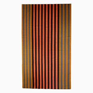 Handgefertigter Indischer Vintage Dhurri Kilim Teppich, 1970er