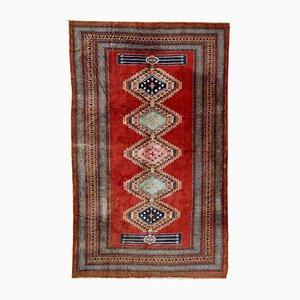 Vintage Uzbek Handmade Bukhara Rug, 1960s