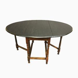 Tavolo pieghevole in quercia, anni '50