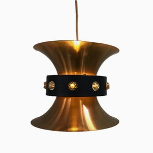 Swedish Pendant Light by Carl Thore for Granhaga Metal Industry, 1960s
