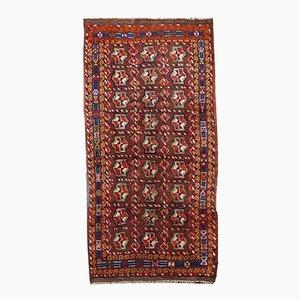 Vintage Handgefertigter Kurdischer Teppich, 1920er