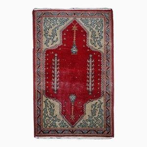 Tapis Konya Fait à la Main Vintage, Turquie, 1920s
