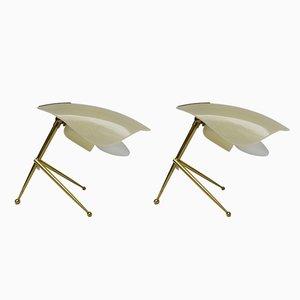 Italienische Tischlampen, 1950er, 2er Set