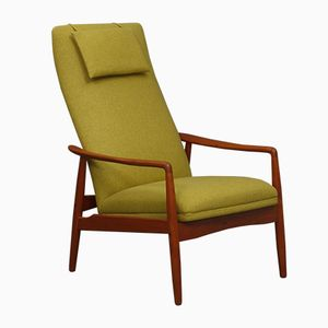 Reclining Easy Chair by Søren Ladefoged for SL Møbler, 1960s