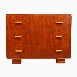 Art Deco Maple Dresser, 1930s