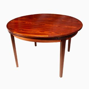 Rosewood Flip Flap Lotus Table from Dyrlund, 1970s