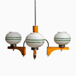 Polish Chandelier from Polam MEOS, 1960s