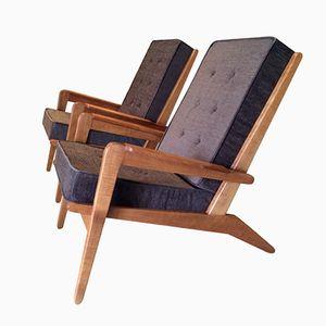 Modell FS105 Sessel von Pierre Guariche für Free Span, 1950er, 2er Set