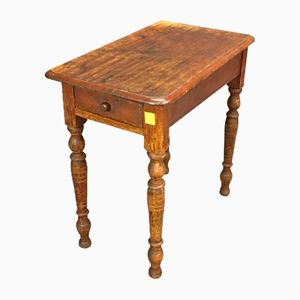 Vintage Fir Side Table