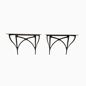 Console Tables by Ico Parisi for Spartaco Brugnoli, 1949, Set of 2