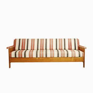 Ausklappbares Dänisches Sofa, 1960er