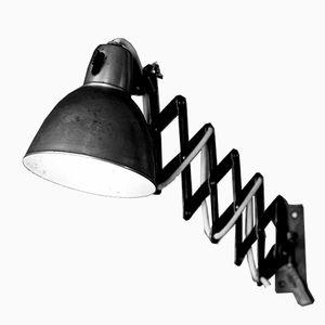 German Industrial Scissor Lamp