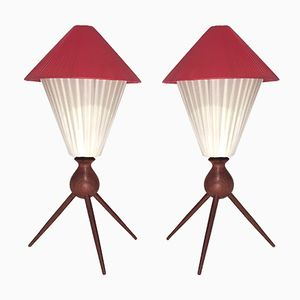 Mid-Century Table Lamps, 1960s, Set of 2