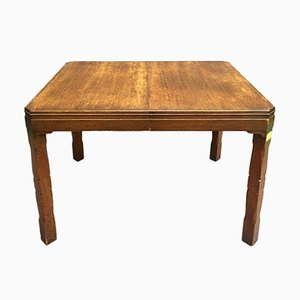 Tavolo in quercia, anni '30