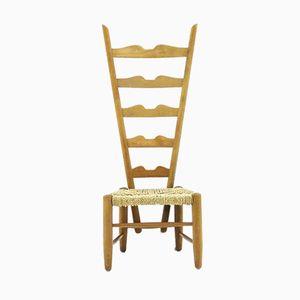Vintage Italian Fireside Chair by Gio Ponti