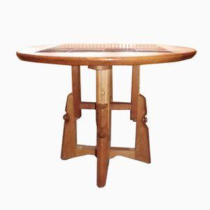 Side Table by Guillerme et Chambron for Votre Maison, 1960s