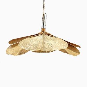 Vintage Uchiwa Deckenlampe von Ingo Maurer für Design M