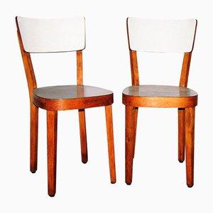 Italian Chairs, 1950s, set of 2