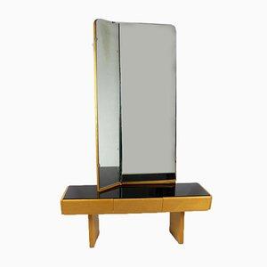 Mid-Century Vintage Frisiertisch mit Spiegel