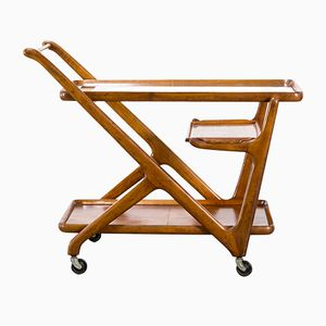 Vintage Tea Trolley by Cesare Lacca for Cassina, 1950s