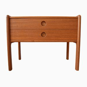 Teak Entry Chest by Kai Kristiansen for Vildbjerg, 1960s