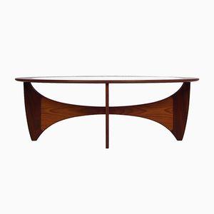 Table Basse Astro Vintage Ovale par Victor Wilkins pour G-Plan