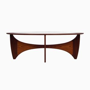 Vintage Oval Astro Coffee Table by Victor Wilkins for G-Plan
