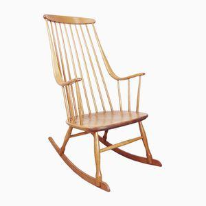 Bohem Rocking Chair from Nässjö Stolfabrik, 1950s