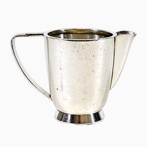 Lattiera placcata in argento di Gio Ponti per i Fratelli Calderoni, anni '50